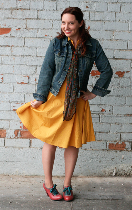 wore out, her library adventures, style inspirations, how to style a yellow dress,