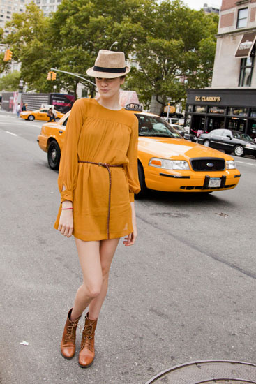 wore out, style inspirations, how to style a yellow dress,
