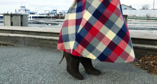Wore Out, Vermont Fashion, Vermont Fashion Blogger, 70's Inspired Style, Cole Haan Ankle Boots, 6pm, Downtown Threads, Brady Bunch Fashion, Gap Sweater, Dolman Sleeve Sweater, Vintage Wool Skirt
